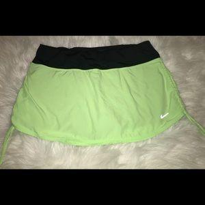 Nike dri-fit running tennis athletic skirt skort M
